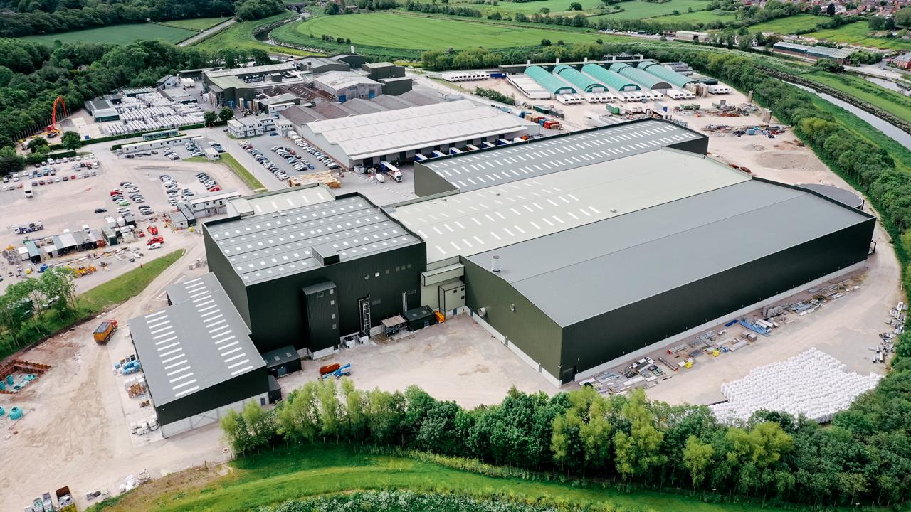 La nova cuina d'ingredients d'última generació de 75 milions de lliures esterlines situada a les nostres instal·lacions de producció a Plocks Farm, Lancashire.